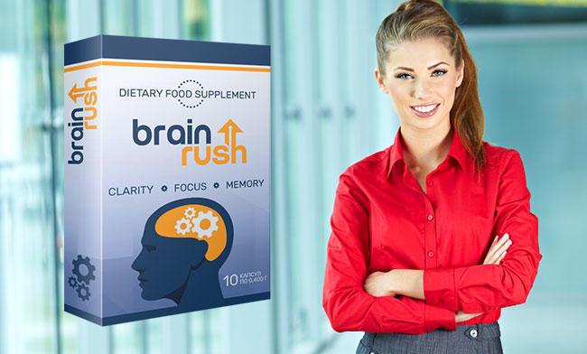 BrainRush капсулы для повышения умственной работоспособности состав