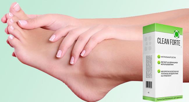 Clean Forte от грибка ногтей и стоп купить