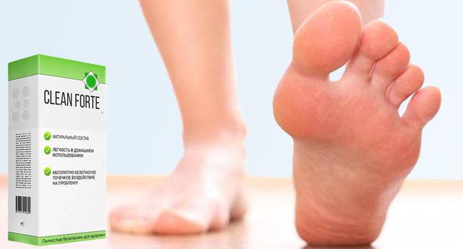 Клин Форте от грибка ногтей и стоп действие