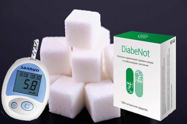 DiabeNot капсулы от диабета купить