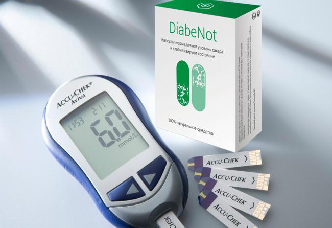 DiabeNot капсулы от диабета действие
