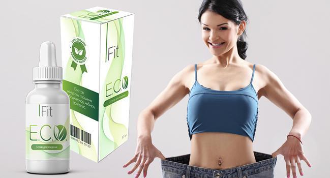 Eco Fit капли для сжигания жира состав