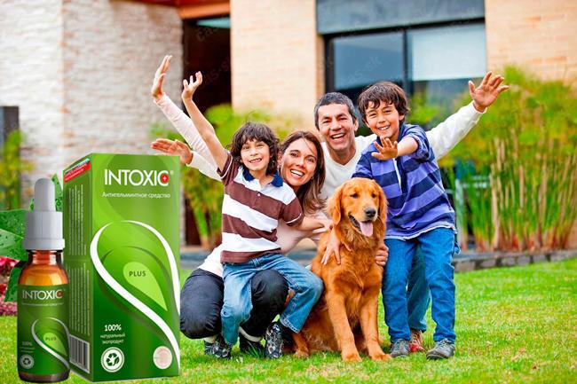 Intoxic Plus средство от паразитов и гельминтов состав