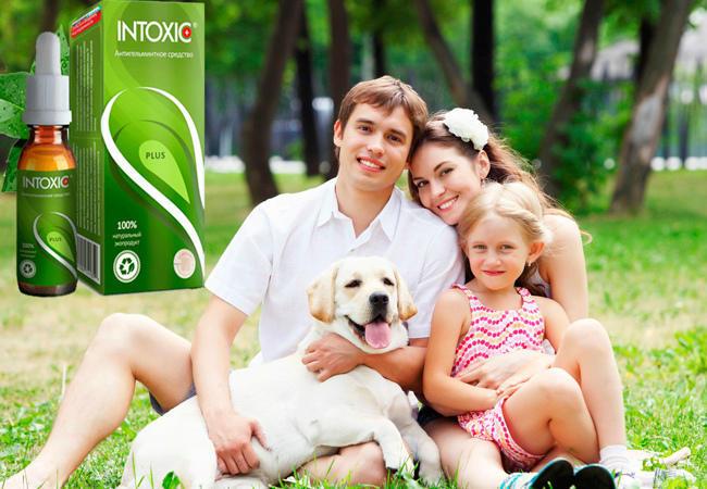 Intoxic Plus средство от паразитов и гельминтов преимущества