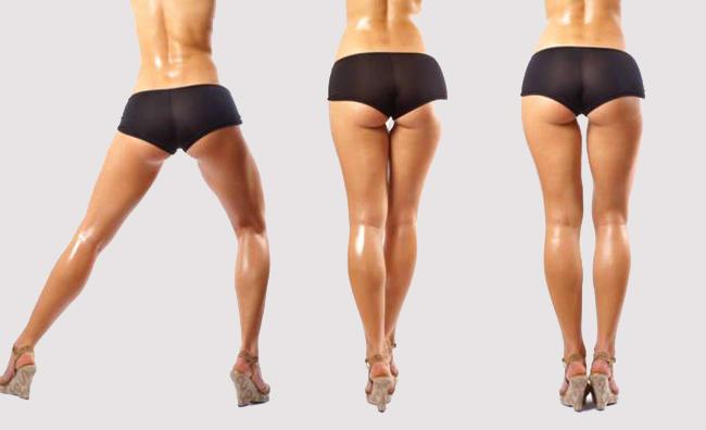 Как накачать ноги упражнения
