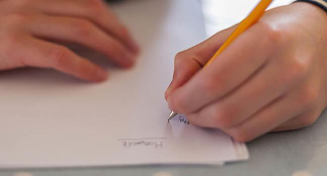 Как научиться писать левой рукой упражнения
