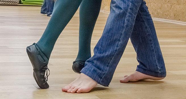 Как научиться танцевать Шафл