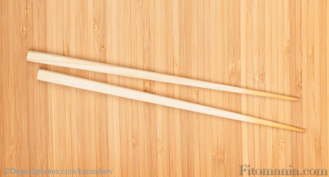 Как сделать прическу с китайскими палочками пучок