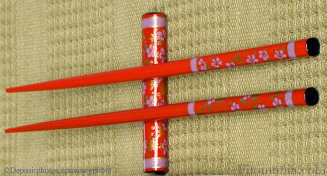 Как сделать прическу с китайскими палочками варианты