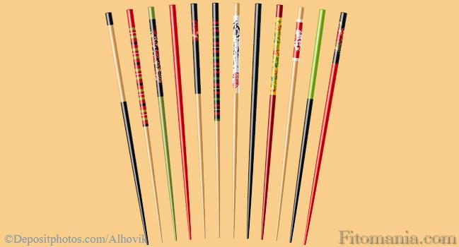 Как сделать прическу с китайскими палочками