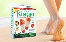 Киноки детоксиционные пластыри для очищения организма от токсинов эффект kinoki-detox