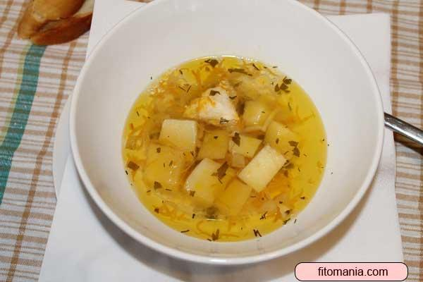 Рецепт супа с макаронами и курицей