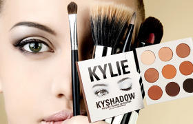 Набор теней Kylie Cosmetics эффект