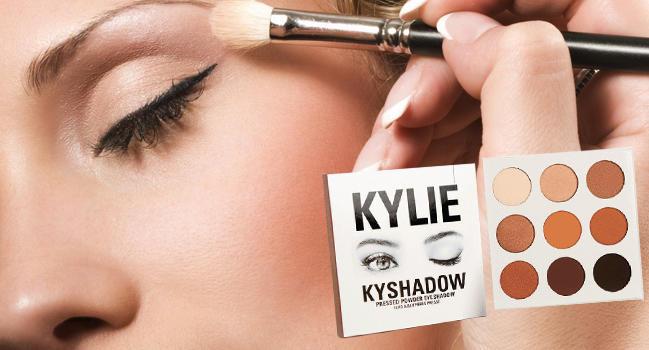 Набор теней Kylie Kyshadow действие
