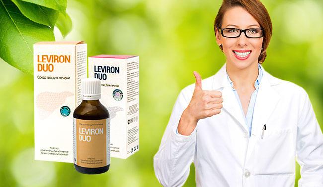 Leviron Duo средство для восстановления и очищения печени состав