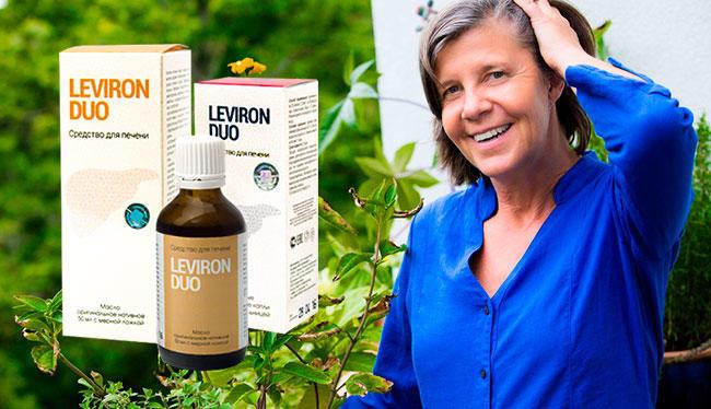 Leviron Duo средство для восстановления и очищения печени купить