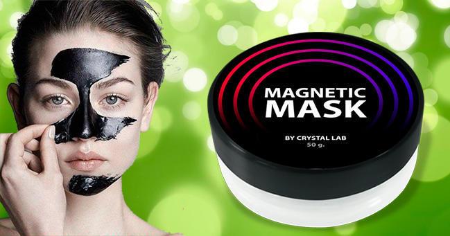 Магнетик Маск от черных точек и прыщей действие