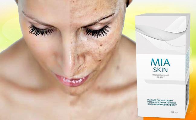 Миа Скин от пигментных пятен и дефектов кожи действие