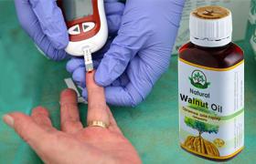 Natural Walnut Oil масло для борьбы с диабетом эффект