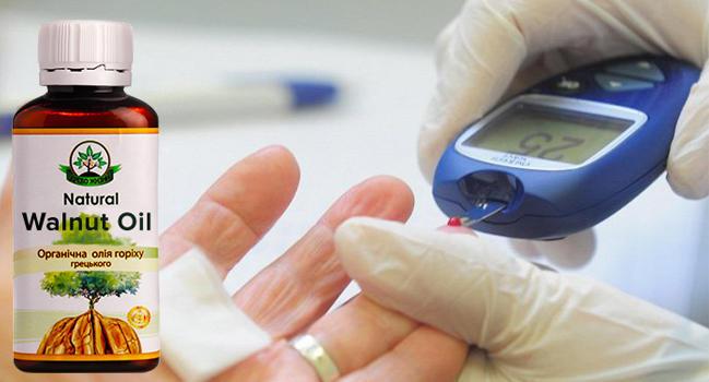 Натурал Валнут Ойл масло для борьбы с диабетом купить