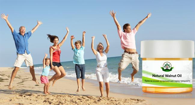 Natural Walnut Oil от боли в суставах действие
