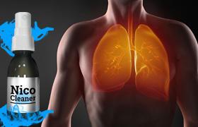 НикоКлинер очиститель легких от табачного дыма эффект