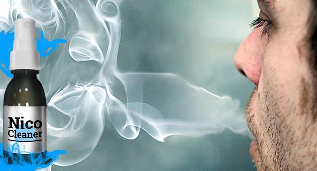 НикоКлинер очиститель легких от табачного дыма купить