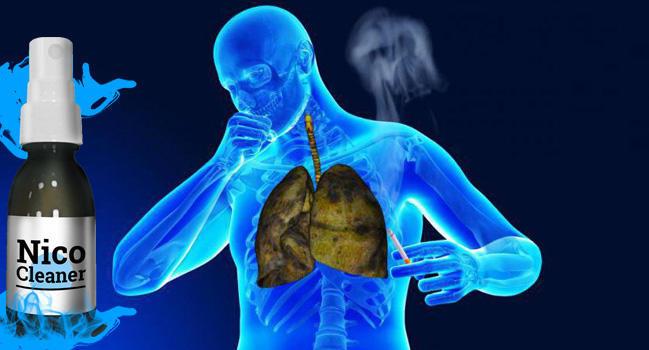 NicoCleaner очиститель легких от табачного дыма отзывы