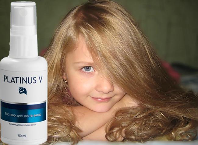 PLATINUS V комплекс для восстановления и укрепления волос результаты