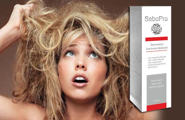seboPro крем-гель от перхоти для роста и красоты волос купить