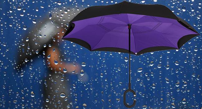 Up-brella ветрозащитный зонт конструкция