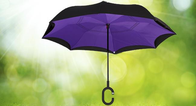 Ап-брелла ветрозащитный зонт особенности