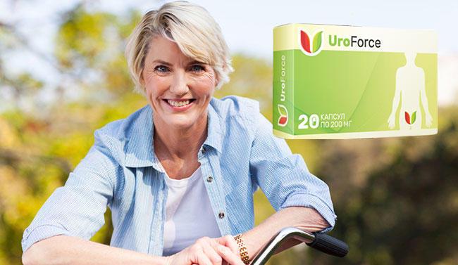 UroForce капсулы от мочекаменной болезни состав