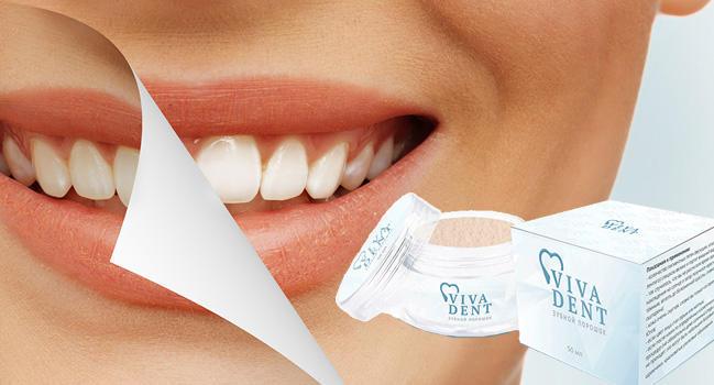 Viva Dent для отбеливания зубов состав